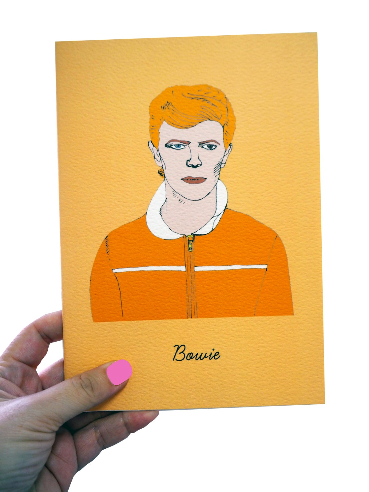 David Bowie A5 or A6 Notebook