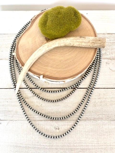 Genuine Navajo Pearl Necklace 4mm