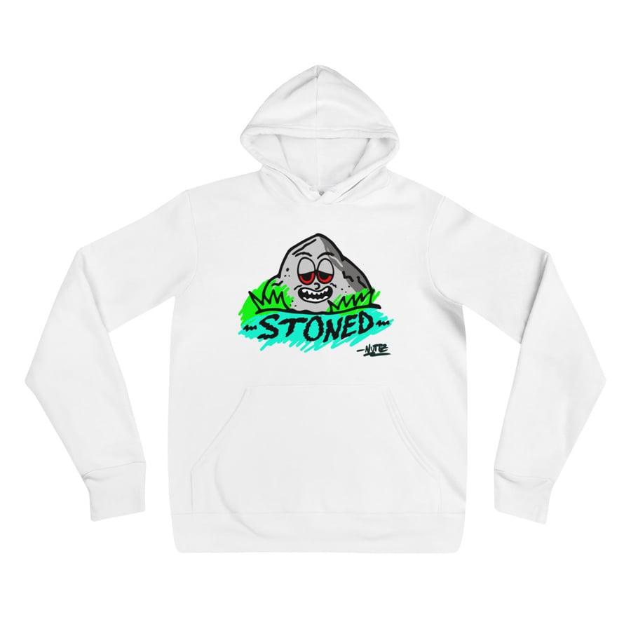Image of Stoned Fleece Unisex hoodie
