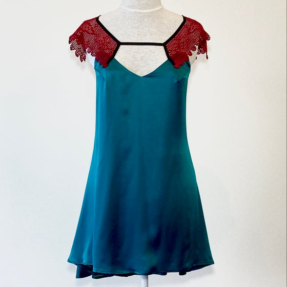 Image of Teal and Berry Emma Dress