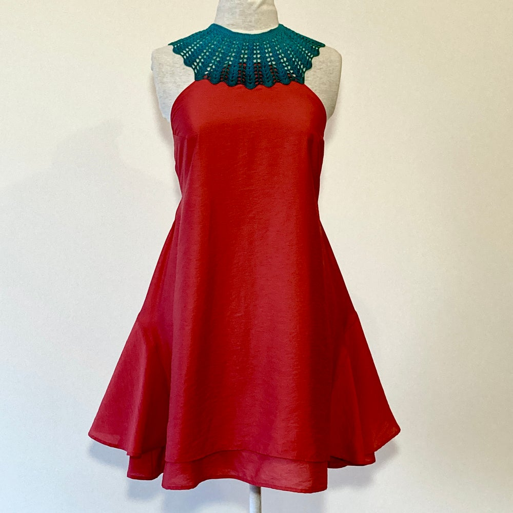 Image of Strawberry and Sapphire Monique Dress