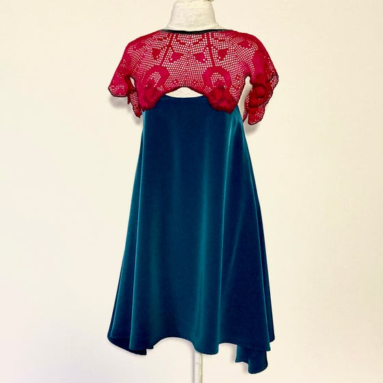 Image of Crimson Peacock Marybeth Dress