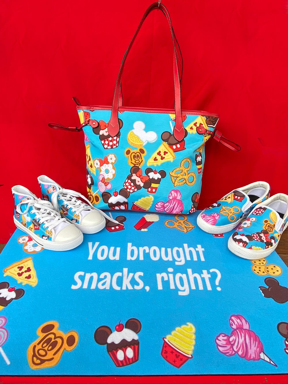 Blue Snacky Snack bags