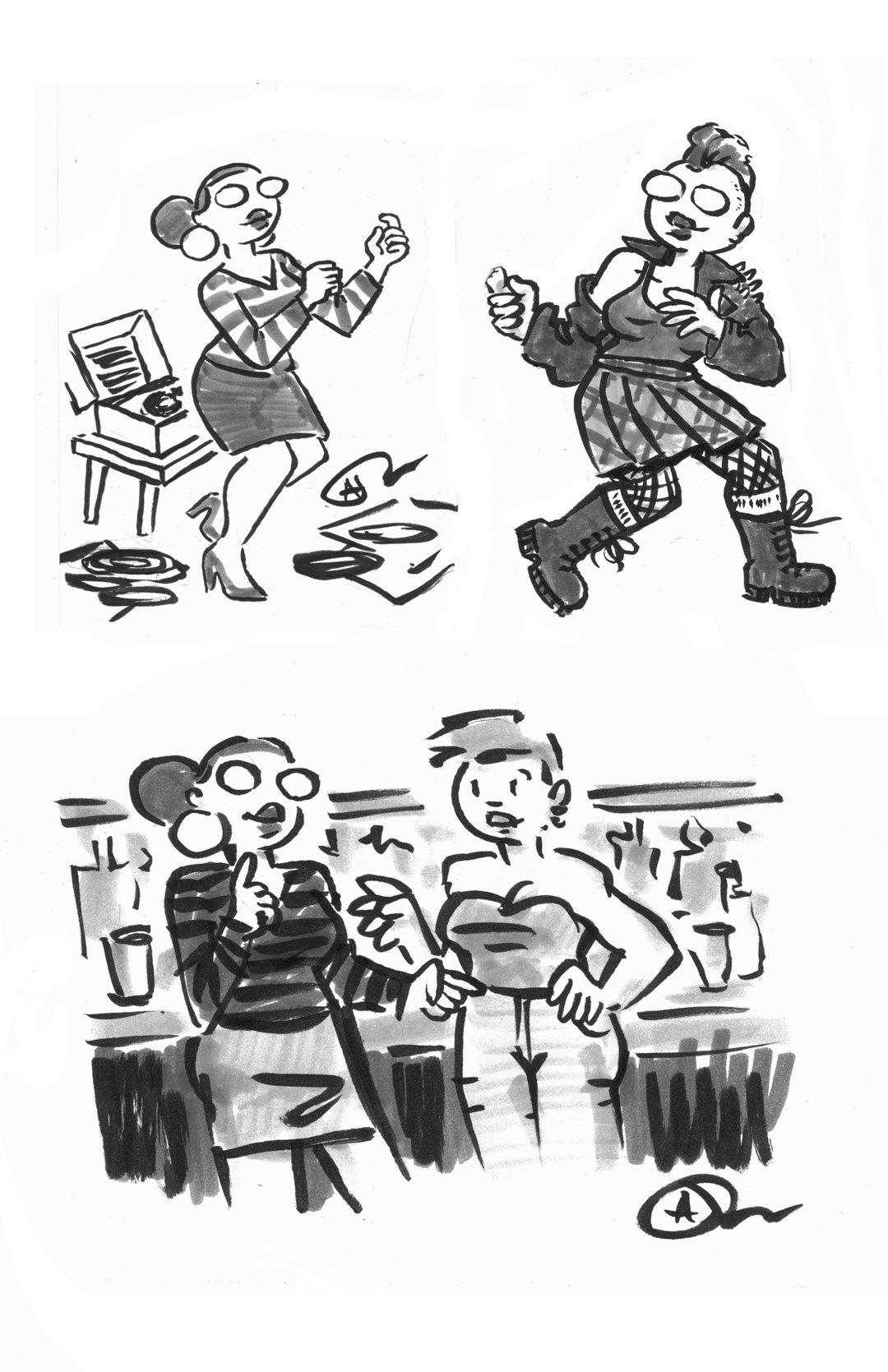 Image of Uncommon Val: Meeting Comics Art Zine