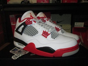 "Image of Air Jordan IV (4) Retro OG ""Fire Red"" 2020"