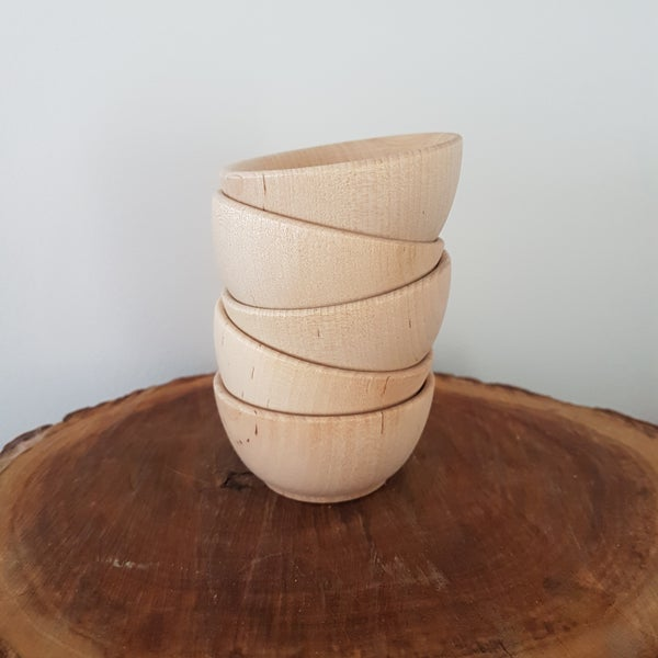 Image of Mini Wooden Bowls