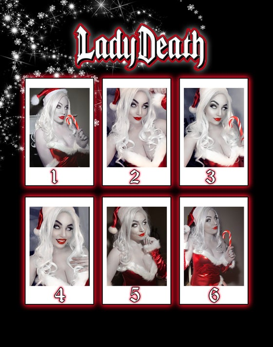 Image of LADY DEATH HOLIDAY POLAROIDS