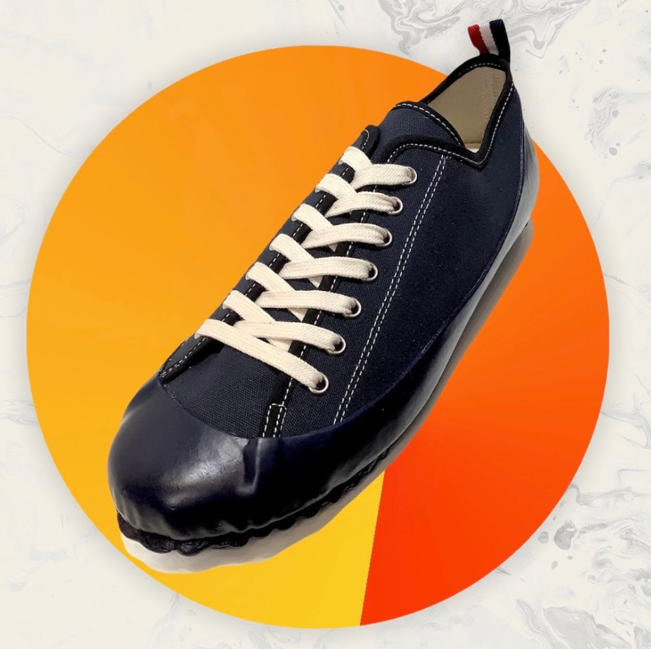 Image of ALLX x Quarter416 marine deck shoes lo top made in Romania