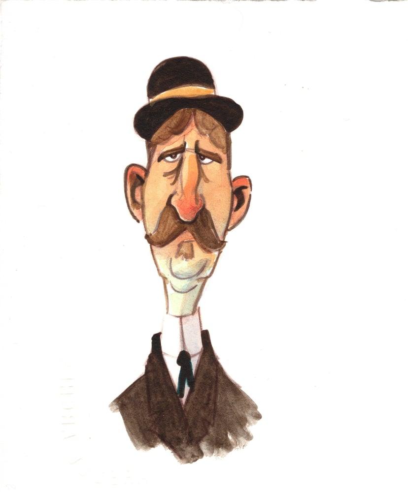 Image of Bowler Hat (4.5x5.5)