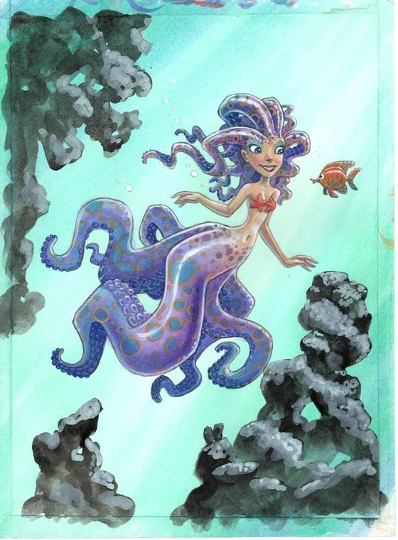 Image of Mermaid (8.5x11.5)