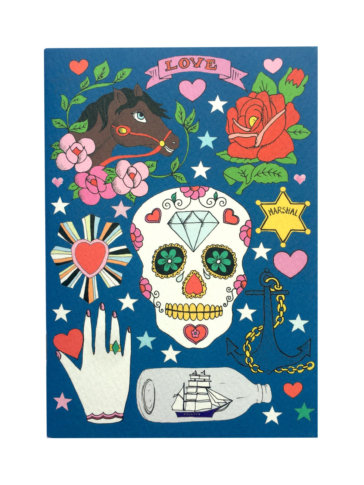 Skull A6 Pocket Notebook