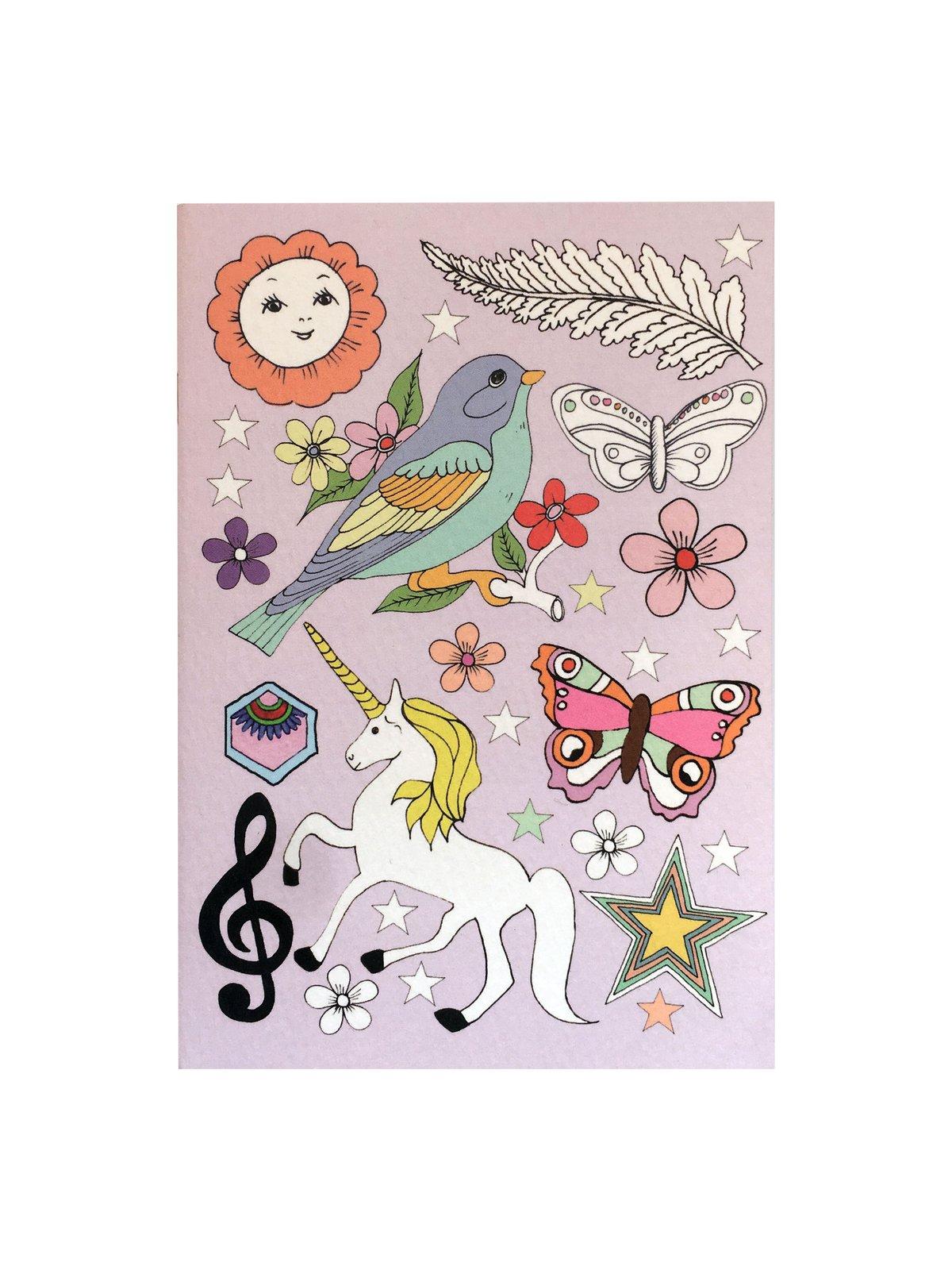 Unicorn A6 Pocket Notebook