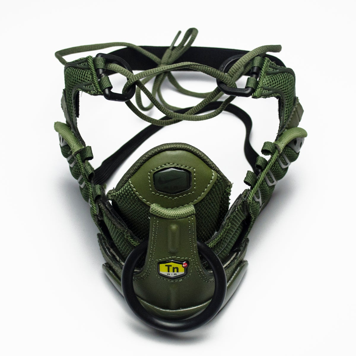 Image of TACTICAL RING MASK / SNEAKER MASK / KHAKI - BLACK )