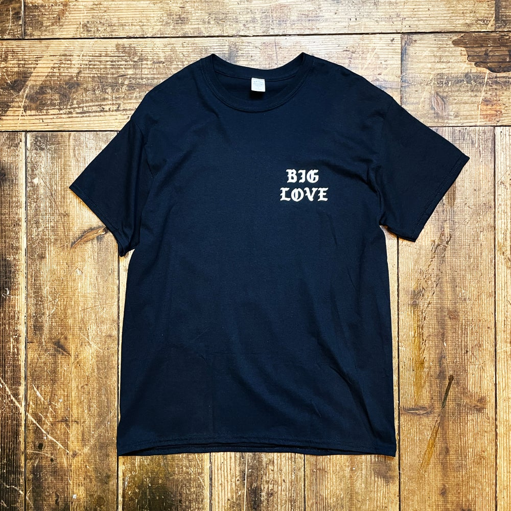 Image of BIG LOVE CLASSIC T-SHIRT -BLACK-