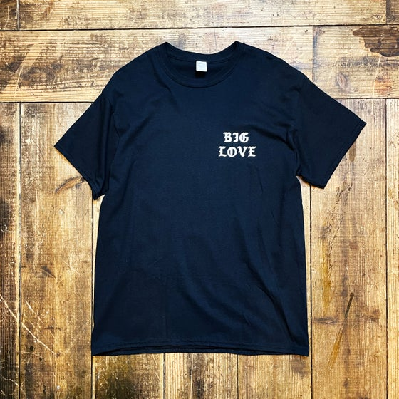 Image of BIG LOVE CLASSIC T-SHIRT -BLACK-