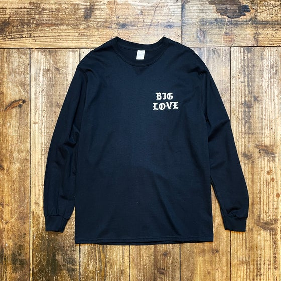 Image of BIG LOVE CLASSIC LONG T-SHIRT -BLACK-
