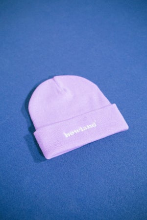 Image of LAVENDER HT BEANIE