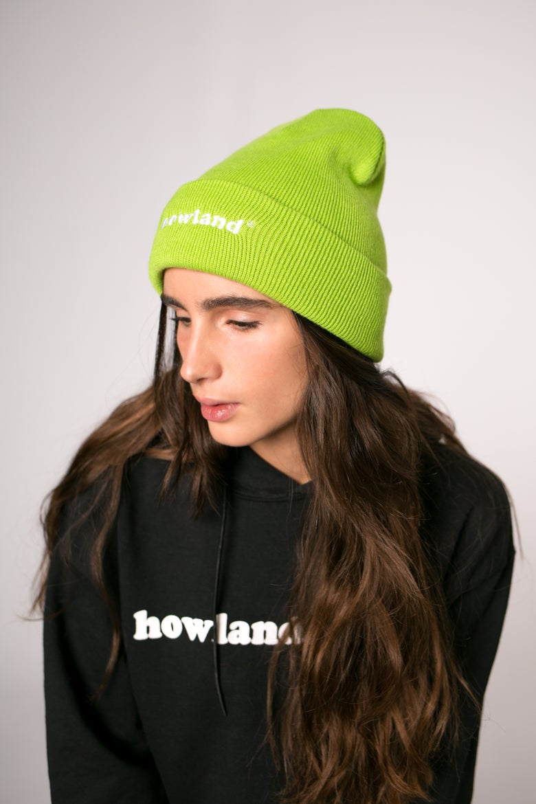 Image of SPACE GREEN HT BEANIE