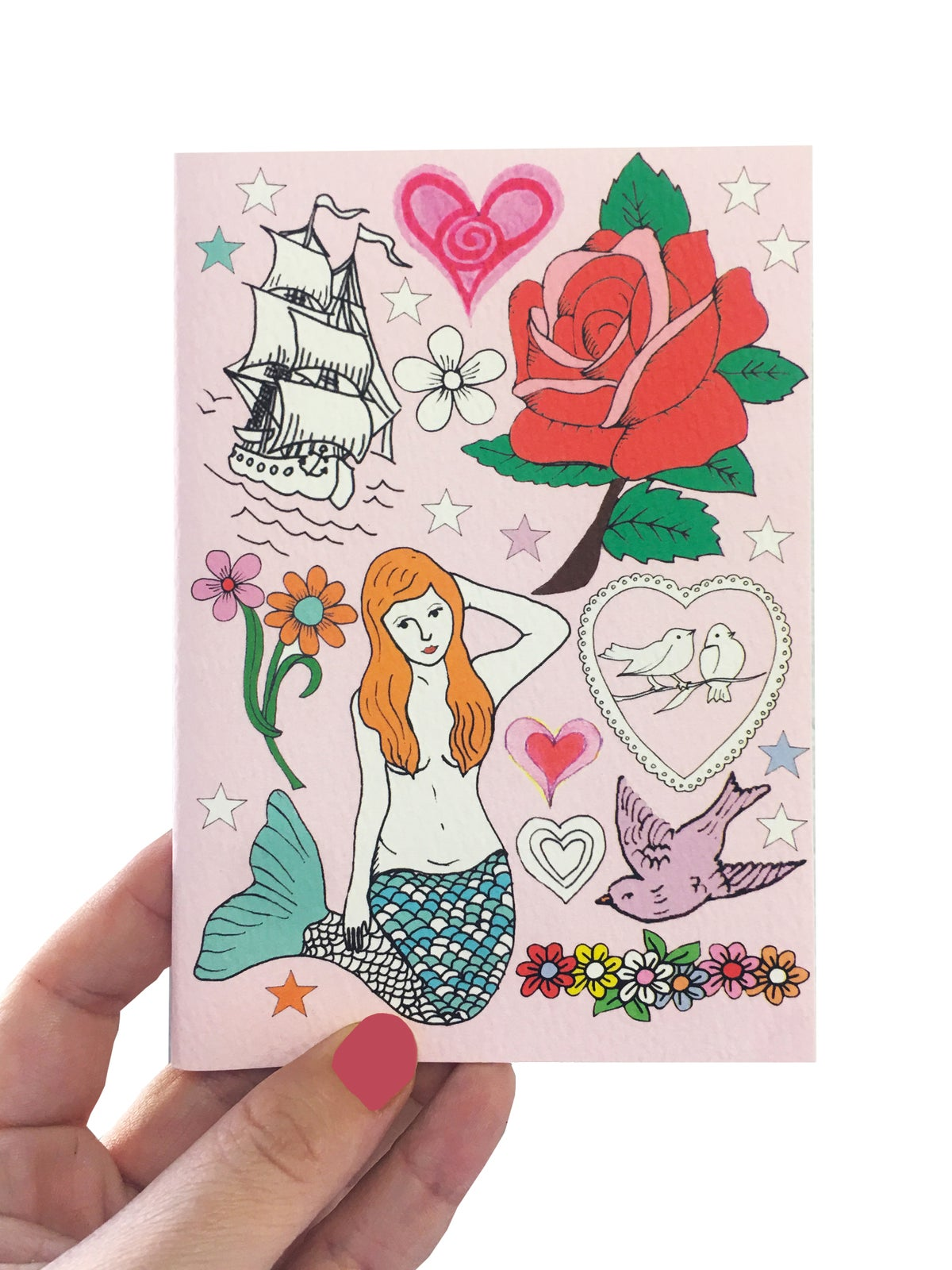 Mermaid A6 Pocket Notebook