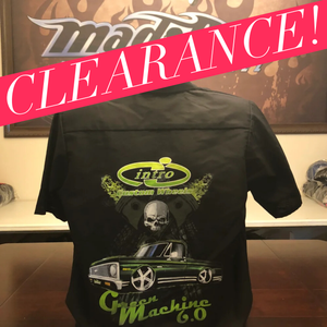 "Image of Work Shirt - ""Green Machine"""