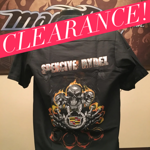 "Image of Work Shirt - ""Spencive Rydez"""