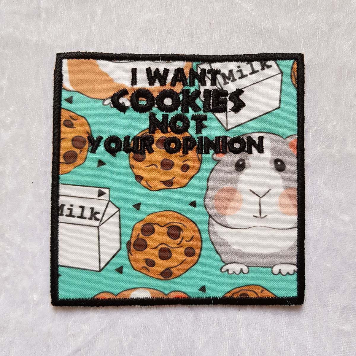 🐹 Patchs Don't want your opinion COOKIES 🐹