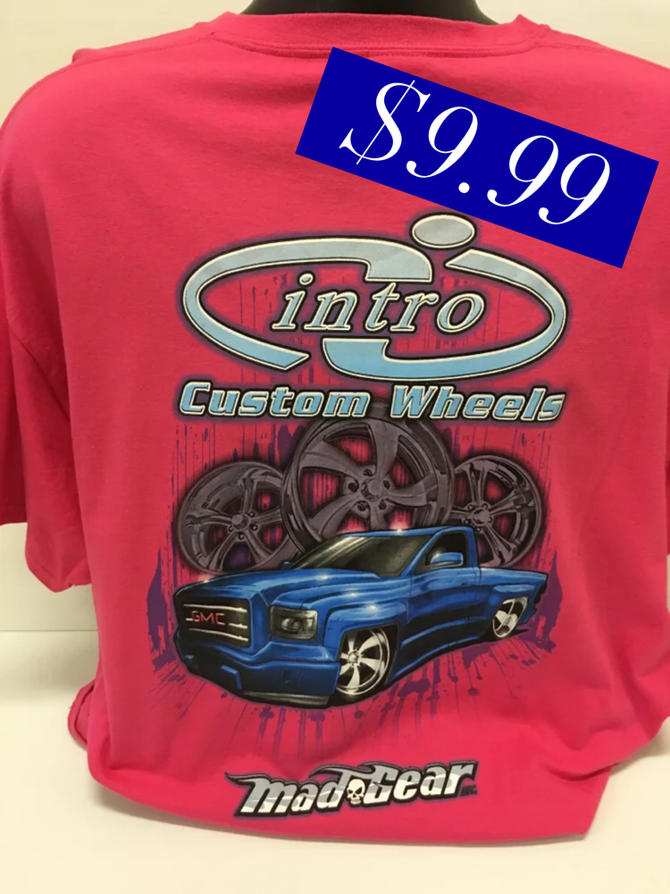 """Image of """"Twin Turbo"""" Pink T-Shirt"""