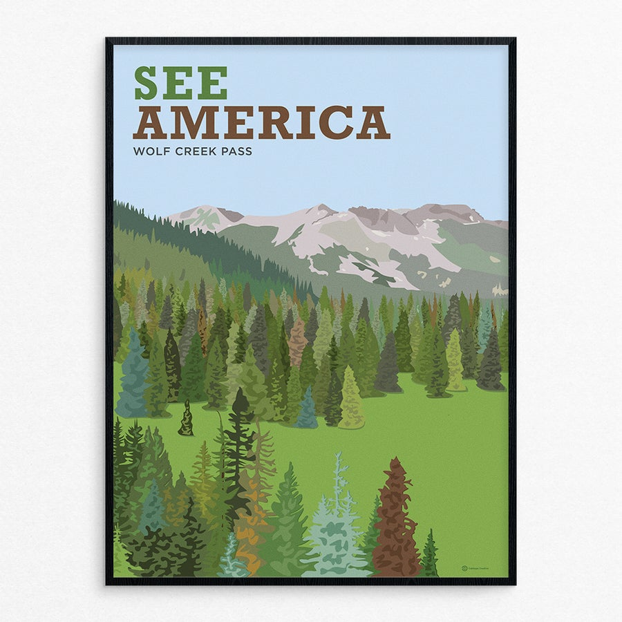 Image of See America: Wolf Creek Pass - by Tim Kapustka