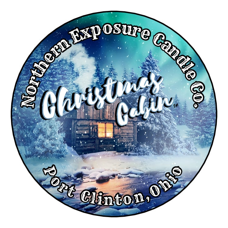 """Image of """"Christmas Cabin"""" Soy blend Candles & Melts"""