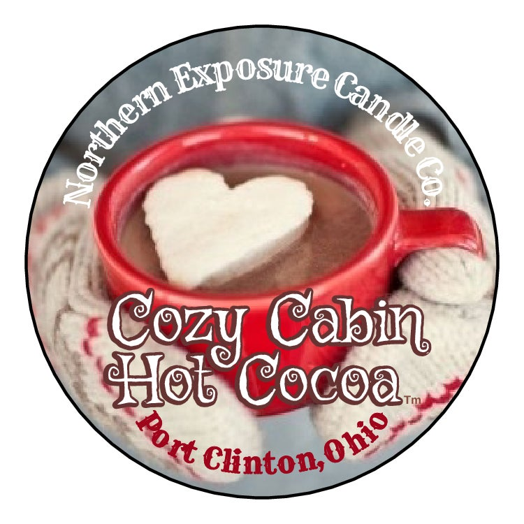 """Image of """"Cozy Cabin Hot Cocoa"""" Soy blend Candles & Melts"""