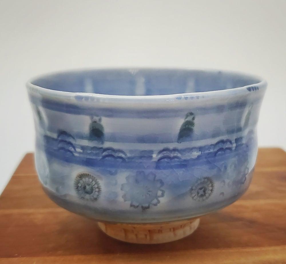 Image of Cobalt Flower Tea Bowl