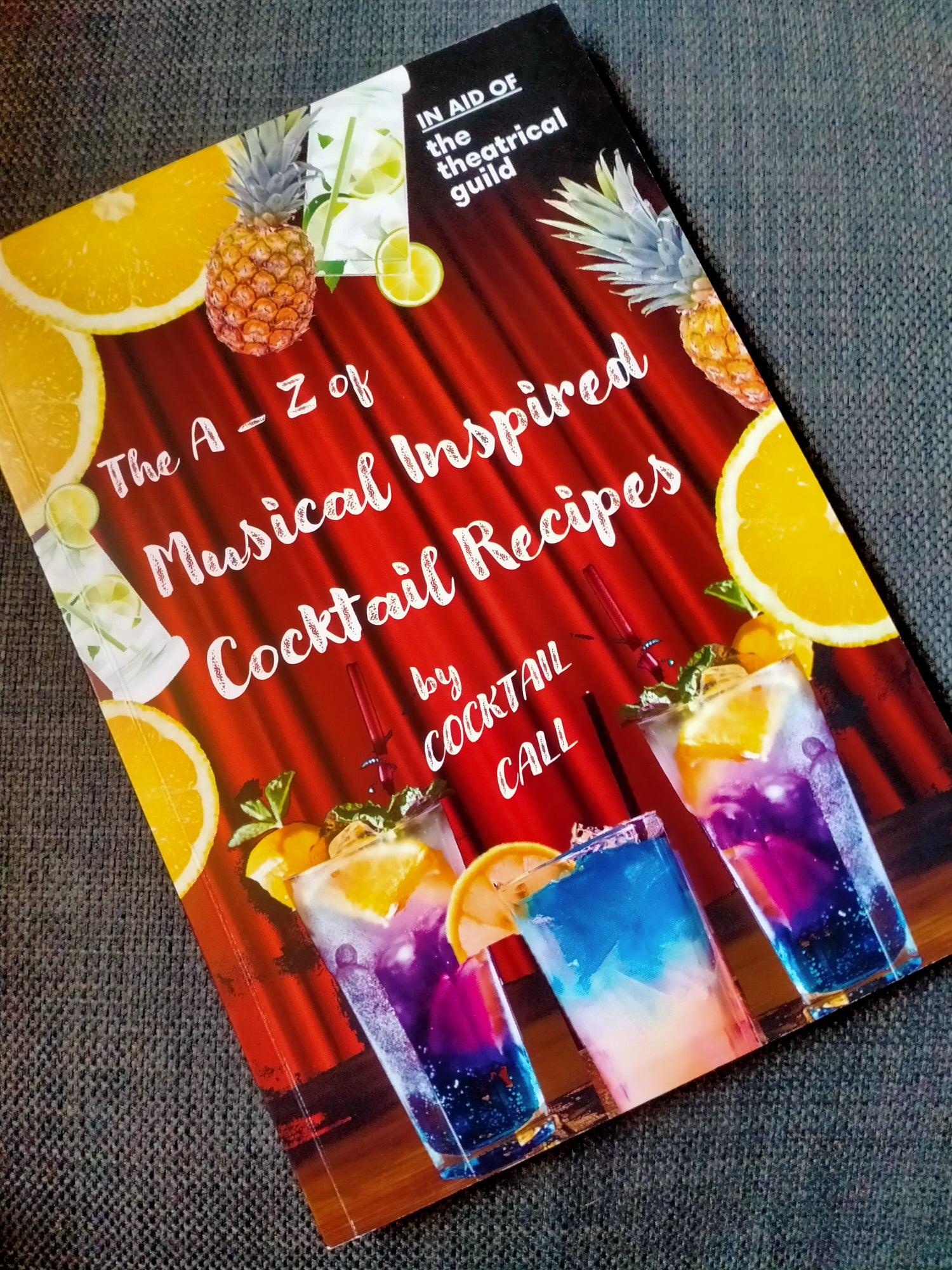 The A-Z of Musical inspired Cocktail Recipes (Physical Copy)