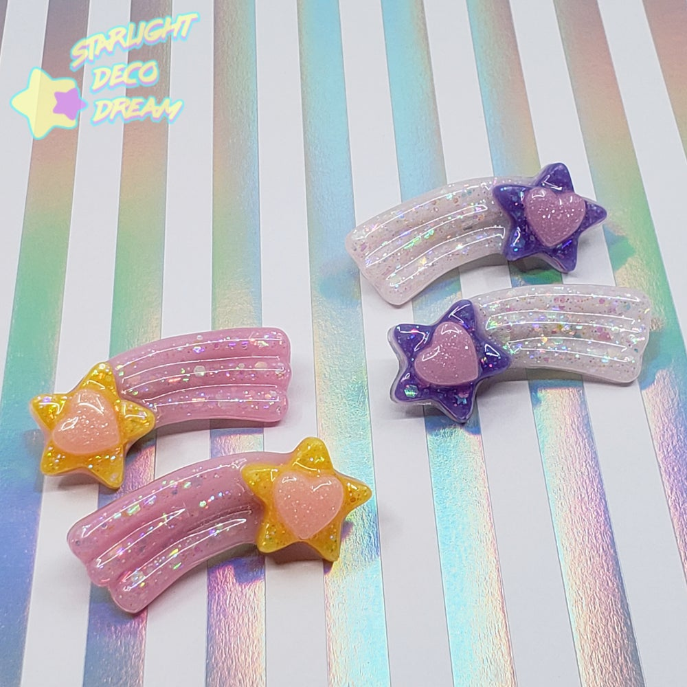 Image of Shooting Stars Hair Clip Set of TWO / Choose A Set