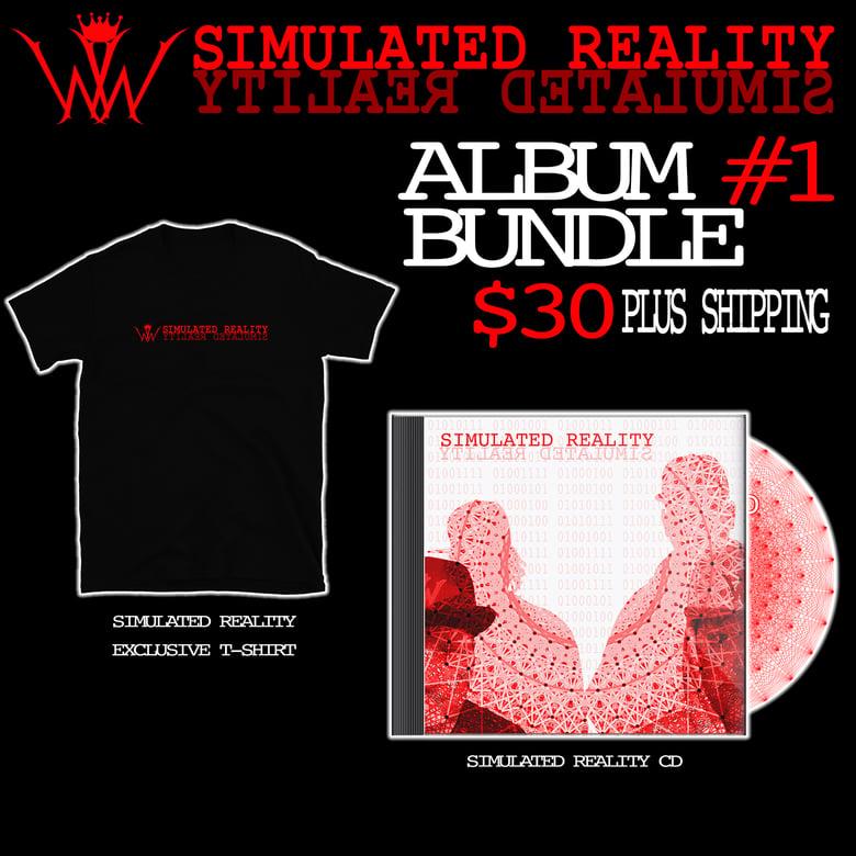 Image of Simulated Reality CD - Bundle #1
