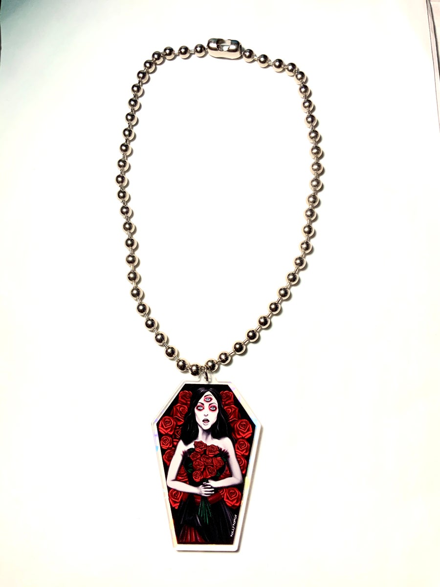 Image of Helena Ball Chain Necklace