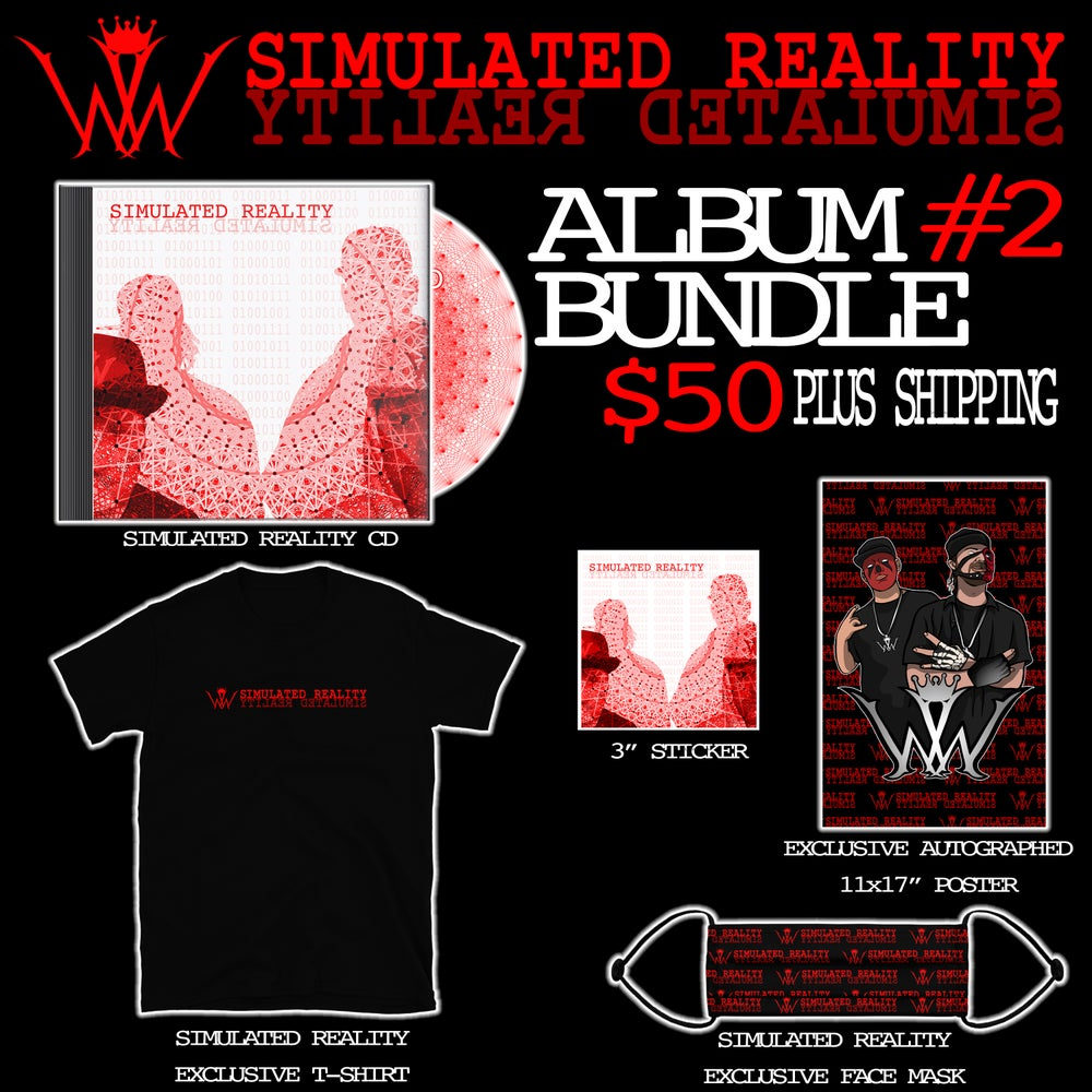 Image of Simulated Reality CD - Bundle #2