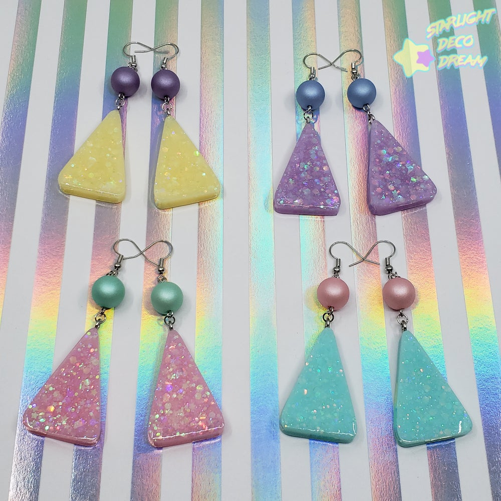 Image of Totally RAD Geo Earrings / Choose A Pair