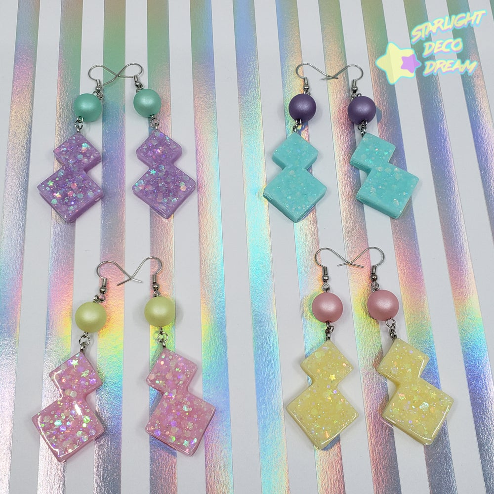Image of Totally COOL Geo Earrings / Choose A Pair