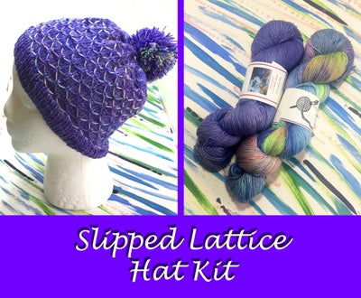 "Image of ""Slipped Lattice Hat"" Kit"