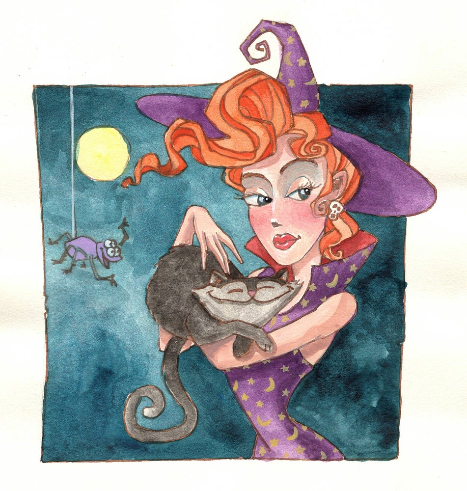 Image of Redhead Witch (6.5x7)
