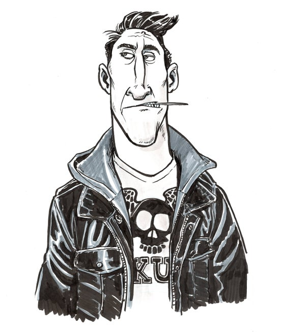 Image of Tough Guy (8.5x11)
