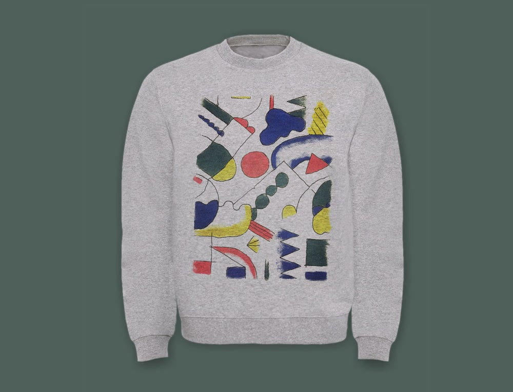 Image of COLORED DRAWING SWEATSHIRT