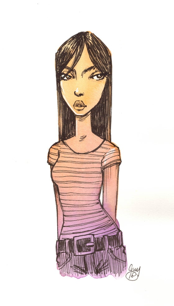 Image of Gradient Girl (4.5x8)