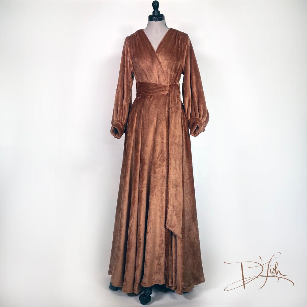 "Image of ""Teddy Bear"" Felicia Supreme Dressing Gown"
