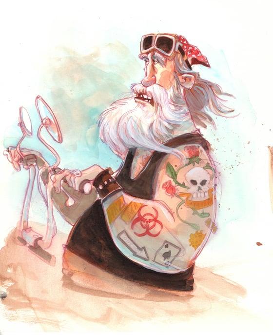 Image of Biker (10x12)
