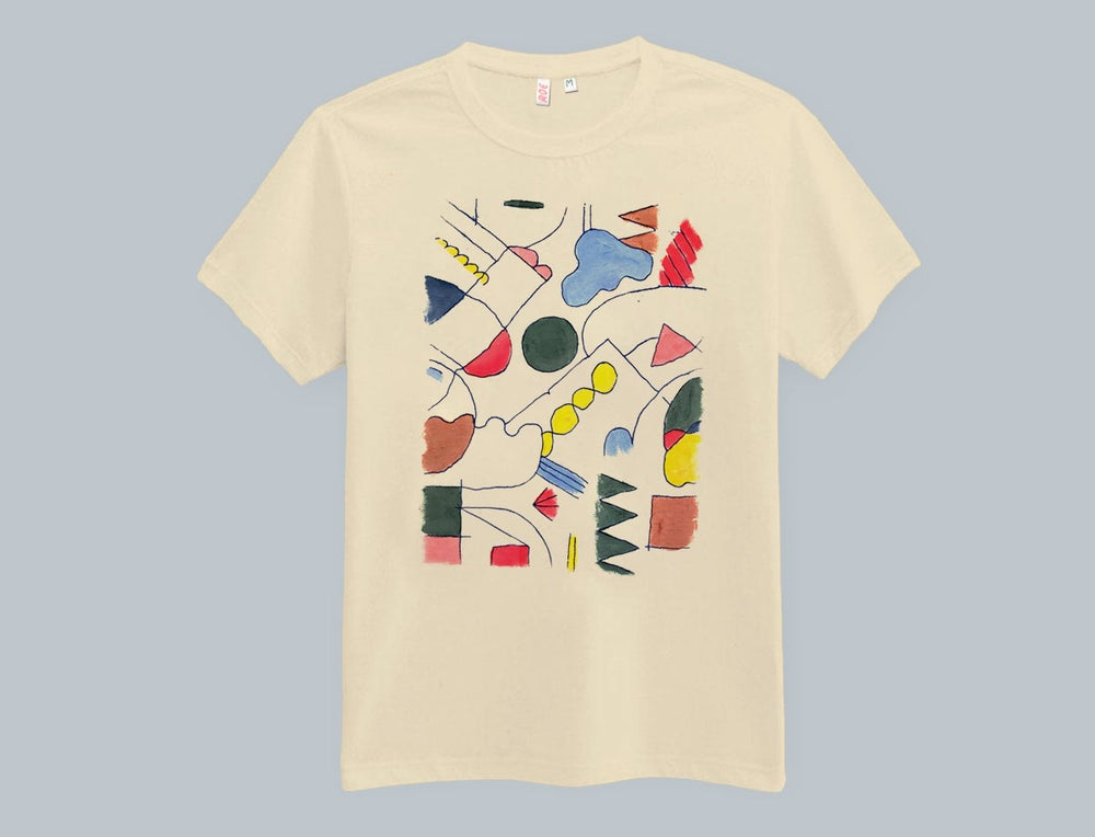 Image of COLORED DRAWING TSHIRT
