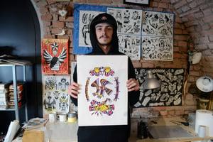 Andrej Bila - Tattoo Flash