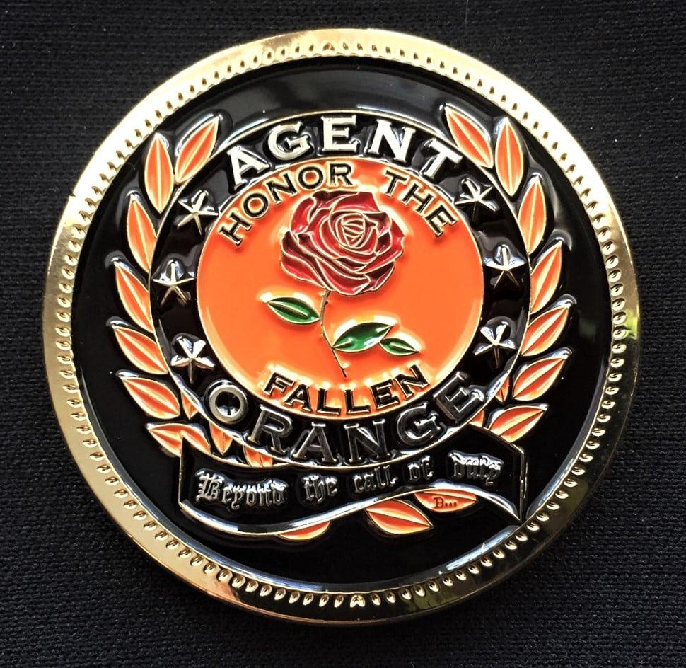 Image of Vietnam Veteran Agent Orange Challenge Coin