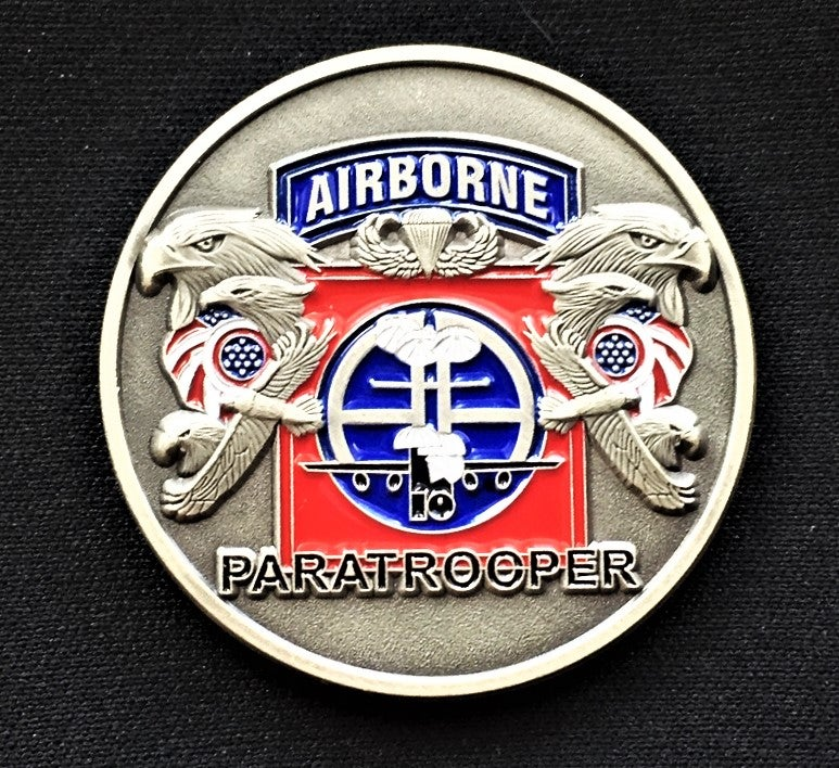Image of 82nd Airborne Challenge Coin