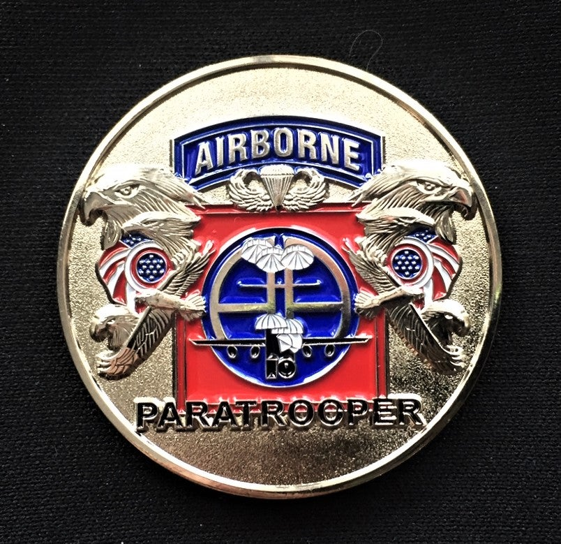 Image of 82nd Airborne  America's Guard Of Honor Challenge Coin